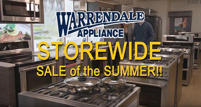 Warrendale-Appliance-Sale